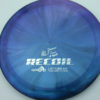 Opto-X Chameleon Recoil - Albert Tamm - blue-green-purple - silver - 173g - 173-2g - somewhat-domey - somewhat-stiff