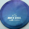 Opto-X Chameleon Recoil - Albert Tamm - blue-green-purple - silver - 173g - 174-0g - somewhat-domey - somewhat-stiff