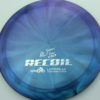 Opto-X Chameleon Recoil - Albert Tamm - blue-green-purple - silver - 173g - 173-7g - somewhat-domey - somewhat-stiff