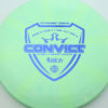 Convict - light-green - fuzion - blue - 304 - 171g - 171-6g - pretty-flat - somewhat-stiff