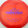 Convict - red - lucid - purple - 304 - 173g - 174-7g - somewhat-flat - somewhat-stiff