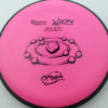 Ion - pink - black - electron-firm - black - 174g - 174-0g - pretty-flat - somewhat-stiff