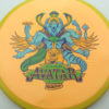 Avatar - yellow - yellow - star - full-color - 175g - 176-7g - somewhat-domey - somewhat-gummy