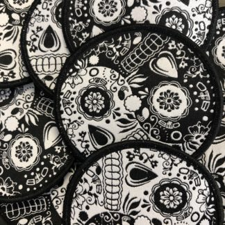 OTB Patch Sugar Skull Yin Yang