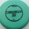 Challenger SS - light-green - d-line - black - 173-175g - 174-1g - super-flat - somewhat-stiff