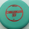 Challenger SS - light-green - d-line - red-fracture - 173-175g - 174-0g - super-flat - somewhat-stiff