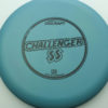 Challenger SS - blue-green - d-line - black - 173-175g - 173-7g - somewhat-puddle-top - somewhat-stiff