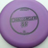 Challenger SS - purple - d-line - black - 173-175g - 174-2g - somewhat-puddle-top - somewhat-stiff