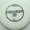 Challenger SS - white - d-line - black - 173-175g - 174-3g - super-flat - somewhat-stiff