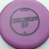 Challenger SS - pinkpurple - d-line - black - 173-175g - 173-6g - super-flat - somewhat-stiff