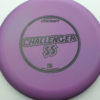 Challenger SS - purple - d-line - black - 173-175g - 175-2g - super-flat - somewhat-stiff
