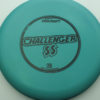 Challenger SS - blue-green - d-line - black - 173-175g - 174-7g - super-flat - somewhat-stiff