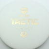 Discmania Tactic - white - exo-hard - gold - 174g - 173-9g - somewhat-puddle-top - pretty-stiff