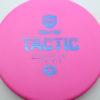 Discmania Tactic - pink - exo-hard - blue - 173g - 173-1g - somewhat-puddle-top - pretty-stiff