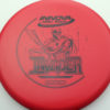 DX Invader - red - black - 175g - 176-1g - super-flat - pretty-stiff