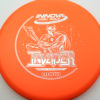 DX Invader - orange - silver - 175g - 175-6g - super-flat - pretty-stiff