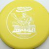 DX Invader - yellow - silver - 171g - 171-8g - super-flat - pretty-stiff