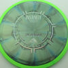 Insanity - swirly - green - plasma - silver - black - 1194 - 158g - 157-5g - somewhat-flat - neutral