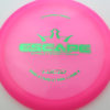Escape - pink - lucid - green - 173g - 173-3g - somewhat-domey - neutral