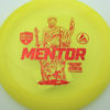Mentor - yellow - active-premium - red-fracture - 3619 - 171-3g - somewhat-domey - somewhat-stiff