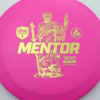 Mentor - pink - active - gold - 3619 - 169-1g - somewhat-flat - very-stiff
