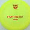 PD2 - yellow - c-line - red - 304 - 173-175g-2 - 175-4g - somewhat-domey - somewhat-stiff