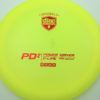 PD2 - yellow - c-line - red - 304 - 173-175g-2 - 176-2g - somewhat-domey - somewhat-stiff