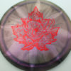 Chameleon Escape - Canadian Nationals - gray-purple - red-fracture - 172g - 173-5g - neutral - neutral