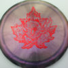 Chameleon Escape - Canadian Nationals - gray-purple - red-fracture - 172g - 173-6g - neutral - neutral