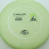 Stabilizer - Eclipse - glow-light-green - white - black - green - 174g - super-flat - somewhat-stiff