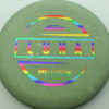 Paul McBeth Luna - rainbow - 170-172g - 172-1g - pretty-flat - somewhat-stiff