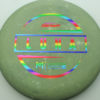 Paul McBeth Luna - rainbow - 170-172g - 172-0g - pretty-flat - somewhat-stiff