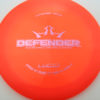Defender - orange - fuzion-x - pink - 304 - 168g - 169-4g - somewhat-domey - neutral