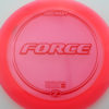Force - pink - z-line - red - 304 - 173-175g - 174-5g - neutral - somewhat-stiff