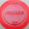 Force - pink - z-line - red - 304 - 173-175g - 174-3g - neutral - somewhat-stiff