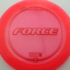 Force - pink - z-line - red - 304 - 173-175g - 174-0g - neutral - somewhat-stiff