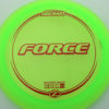 Force - green - z-line - red - 304 - 173-175g - 174-2g - neutral - somewhat-stiff