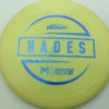 McBeth Hades - Stock ESP - blue-mini-dots-and-stars - 160-163g - 162-1g - somewhat-domey - somewhat-stiff