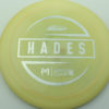 McBeth Hades - Stock ESP - silver-squares - 167-169g - 168-8g - somewhat-flat - neutral