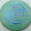 McBeth Hades - Stock ESP - blue-mini-dots-and-stars - 160-163g - 161-7g - somewhat-domey - somewhat-stiff