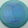 McBeth Hades - Stock ESP - blue-mini-dots-and-stars - 160-163g - 162-5g - somewhat-domey - somewhat-stiff
