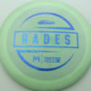 McBeth Hades - Stock ESP - blue-mini-dots-and-stars - 160-163g - 163-1g - somewhat-domey - somewhat-stiff