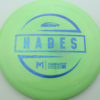 McBeth Hades - Stock ESP - blue-mini-dots-and-stars - 160-163g - 162-2g - somewhat-domey - somewhat-stiff