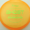 Ghost - orange - pinnacle - green-mini-dots-and-stars - 304 - 179g - 178-0g - somewhat-flat - pretty-stiff