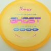Ghost - orange - pinnacle - rainbow-purple-blue - 304 - 179g - 179-9g - somewhat-flat - pretty-stiff