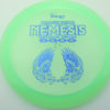 Nemesis - light-green - pinnacle - blue-pebbles - 174g - 174-3g - somewhat-flat - neutral