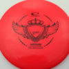Latitude 64 Sapphire - red - gold - black - 157g - 157-7g - somewhat-domey - neutral