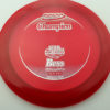 Boss - red - champion - silver - 304 - 1194 - 171g - 171-1g - somewhat-domey - somewhat-stiff
