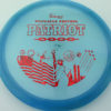Patriot - blue - pinnacle - red-fracture - 304 - 175g - 176-9g - somewhat-flat - somewhat-stiff