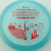 Patriot - blue - pinnacle - red-fracture - 304 - 175g - 177-5g - somewhat-flat - somewhat-stiff